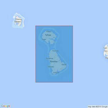 1103 Tahaa and Raiatea Admiralty Chart