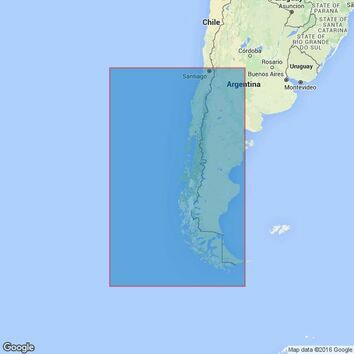 4609 Valparaiso to Islas Diego Ramirez Admiralty Chart