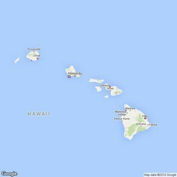 1490 Harbours in the Hawaiian Islands Admiralty Chart