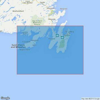 4734 Saint-Pierre To / A St John\'s Admiralty Chart