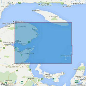 4766 Baie des Chaleurs/Chaleur Bay aux/to Iles de la Madeleine Admiralty Chart