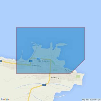 4769 Riviere Ristigouche/Restigouche River Admiralty Chart