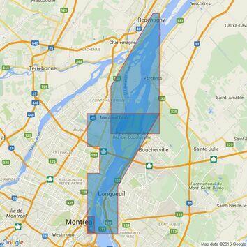 4792 Port de Montreal Admiralty Chart
