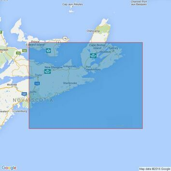 4748 Halifax to Sydney Admiralty Chart