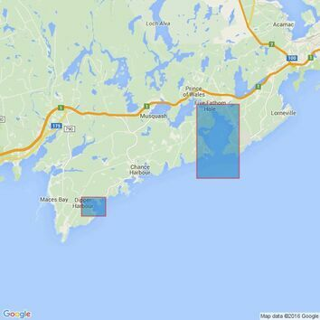 4749 Approaches to Saint John Admiralty Chart