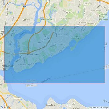 3458 New YorkRaritan Bay to Arthur Kill Admiralty Chart