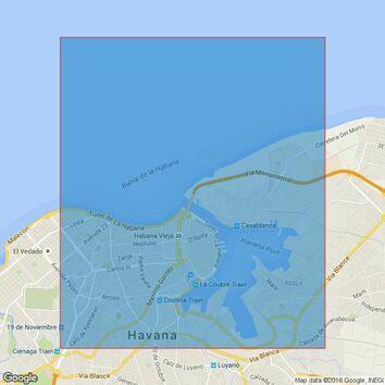 414 Puerto de la Habana Admiralty Chart