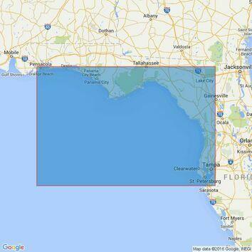 3852 Pensacola Bay to Tampa Bay Admiralty Chart