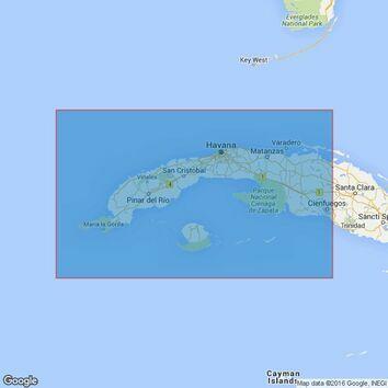 3867 CubaWestern Sheet Admiralty Chart