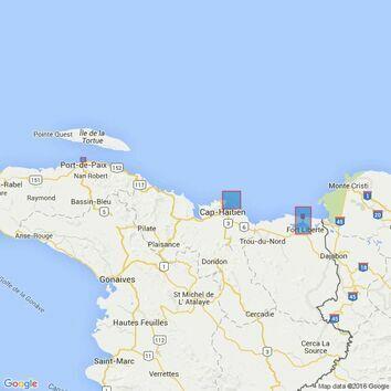 465 Fort Liberte to Ile de la Tortue Admiralty Chart
