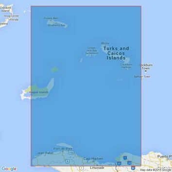 3907 Passages Between Mayaguana Island &Turks & Caicos Is inc Northern Apps to Haiti & Dominican Rep Admiralty Chart