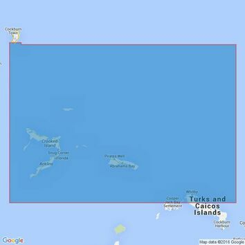 3914 Caicos Passage and Mayaguana Passage Admiralty Chart