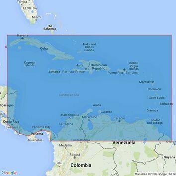 4402 Caribbean Sea Admiralty Chart