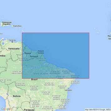 4216 Northeast Coast of South America Admiralty Chart