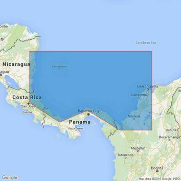 396 Barranquilla to Miskito Bank Admiralty Chart