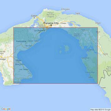 1929 Gulf of Panama Admiralty Chart