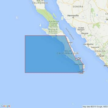 1028 Cabo Falso to Punta Abreojos Admiralty Chart