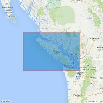 4922 Juan de Fuca Strait to / A Queen Carlotte Sound Admiralty Chart