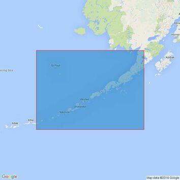 Alaska and Bering Strait British Admiralty Charts | Seachest