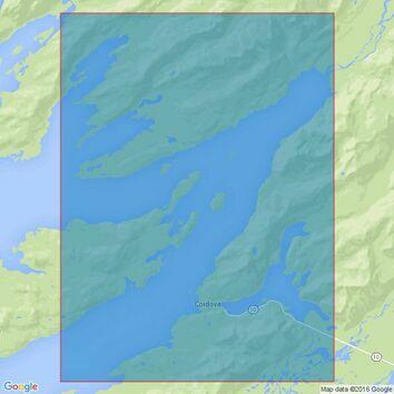 4980 Alaska-South Coast,Prince William Sound,Eastern Entrance Admiralty Chart
