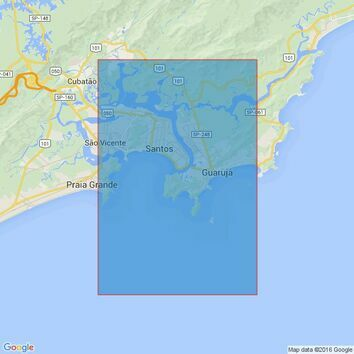 19 Porto de Santos Admiralty Chart