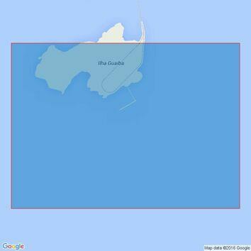 432 Approaches to Terminal da Ilha Guaiba Admiralty Chart