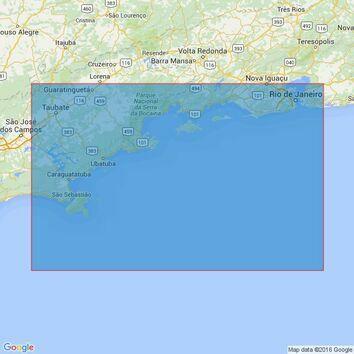 3970 Rio de Janeiro to Ilha de Sao Sebastiao Admiralty Chart