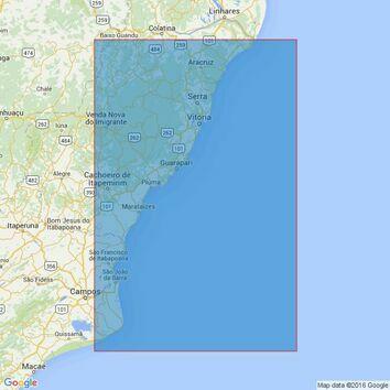 3972 Rio Doce to Cabo de Sao Tome Admiralty Chart