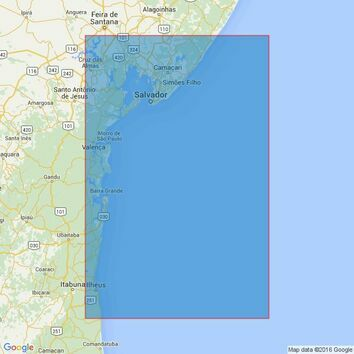 3975 Ponta Acu da Torre to Ilheus Admiralty Chart