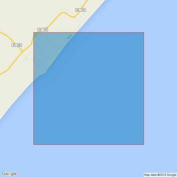 3977 Maceio to Aracaju Admiralty Chart