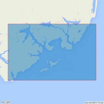 2527 Port Albemarle Admiralty Chart