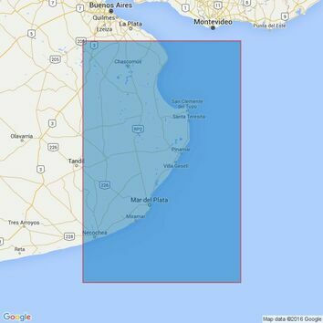 3065 Punta Piedras to Quequen Admiralty Chart