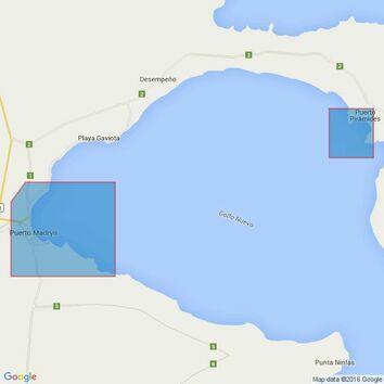 3067 Rio Negro to Isla Leones Admiralty Chart