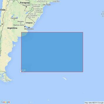 4207 Falkland Islands to Cabo Corrientes and South Georgia Rise Admiralty Chart