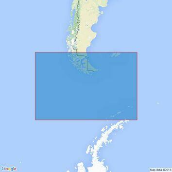 4212 Drake Passage Admiralty Chart