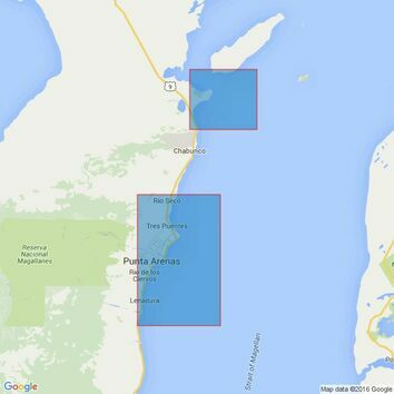 1694 Segunda Angostura to Punta Arenas Admiralty Chart