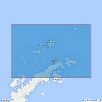 3205 South Shetland Islands and Bransfield Strait Admiralty Chart