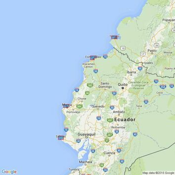 2799 Ports on the Coasts of Colombia and Ecuador Admiralty Chart