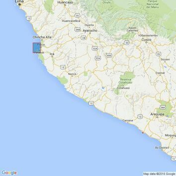 3084 Ports on the Coast of Peru Admiralty Chart