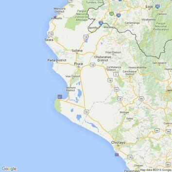 3092 Salaverry to Bahia de Santa Elena Admiralty Chart