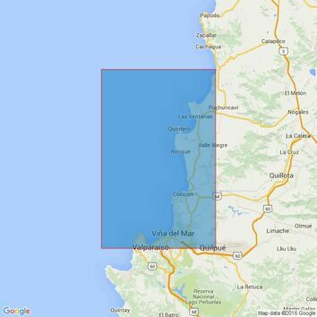 4238 Chile, Bahia Valparaiso to Bahia Quintero Admiralty Chart