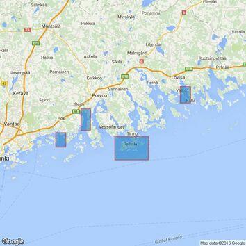 2256 Gulf of Finland, Valko, Pellinki, Kilpilahti and Kalkkiranta Admiralty Chart