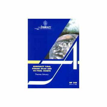 Admiralty NP249 Tidal Stream Atlas: Thames Estuary