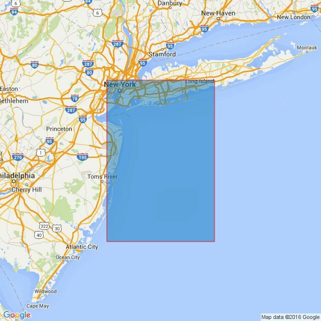 Map Of New York Harbour.2755 Approaches To New York Harbour Admiralty Chart Only 25 90