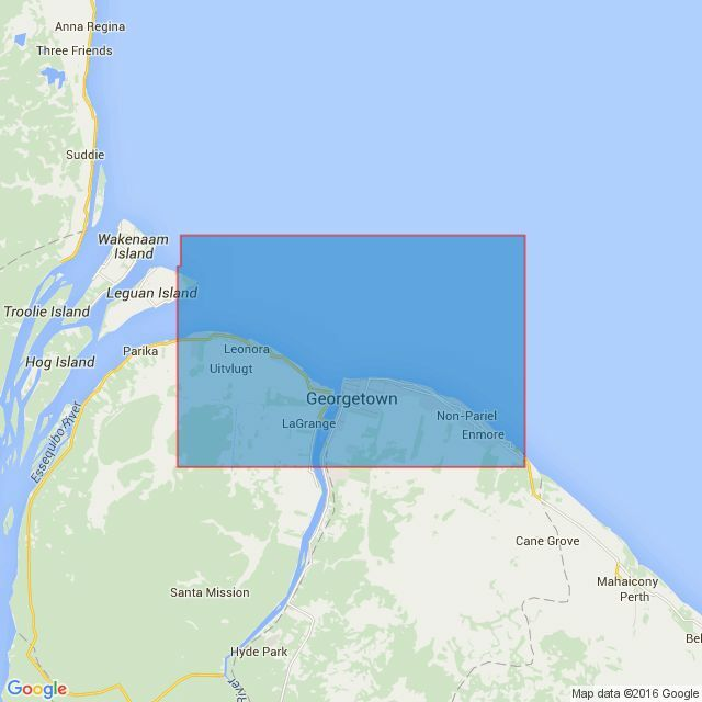 533 Georgetown And Mouths Of Demerara And Essequibo Rivers Admiralty