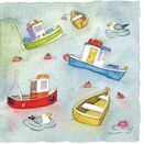 Emma Ball 'Floating Away' Mini Cards (Pack of 10) additional 1