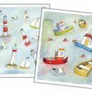 Emma Ball 'Floating Away' Mini Cards (Pack of 10) additional 2