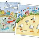 Emma Ball 'A Day At The Seaside' Mini Cards (Pack of 10) additional 1