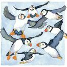 Emma Ball Puffins Mini Cards (Pack of 10) additional 3