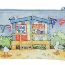 Emma Ball Beach Huts Zipper Purse additional 1